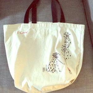 J. Crew Dalmatian Bag